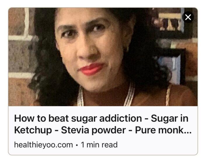 7 steps to beat sugar addiction
